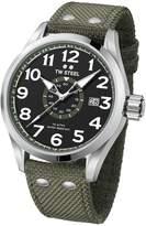 TW Steel Men's 'Volante' Quartz Stainless and Nylon Dress Watch, Color:Green (Model: VS21)