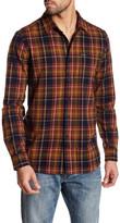 Volcom Shefield Long Sleeve Modern Fit Flannel Shirt