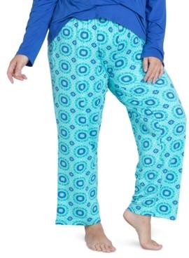 Muk Luks Cool Girl Printed Long Pajama Pants