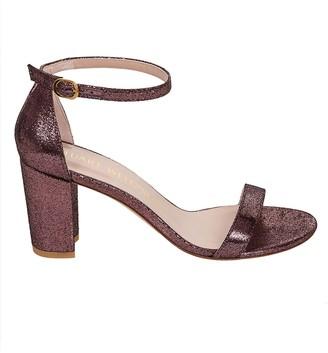 Stuart Weitzman Side-buckle Sandals