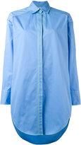 MSGM long button-up shirt