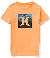 Hurley Big Boys 8-20 Squared Up Short-Sleeve Graphic Tee