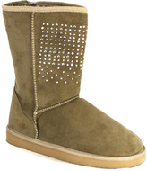 C Label Natural Rhinestone Cupcake Boot