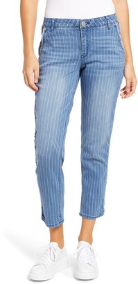 Wit & Wisdom Ab-Solution High Waist Ankle Straight Jeans