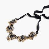 J.Crew Midnight crystal necklace