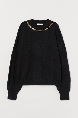 H&M Chain-detail Sweater