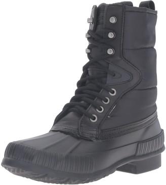 Tretorn Women's Foley Rain Boot Black 4 M US