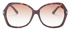 Tom Ford Women's Carola Oversized Square Sunglasses, 60mm