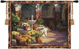 Charlotte Home Furnishings Inc. Tapestry Wall Hanging La Fuente Seca [Kitchen]