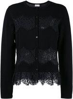 RED Valentino lace insert cardigan - women - Polyamide/Viscose - L