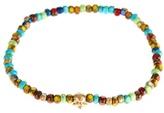 Luis Morais Yellow-gold And Vintage Bead Bracelet