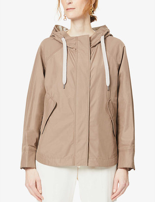 Brunello Cucinelli Hooded shell jacket