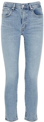 AGOLDE Toni Light Blue Skinny Jeans