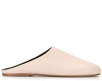 Sofie D'hoore Fancy round-toe mules
