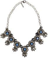 Deepa Gurnani Starlight Crystal Burst Necklace