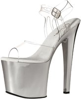 Pleaser USA Women's Tab708/C/Sch Platform Dress Sandal