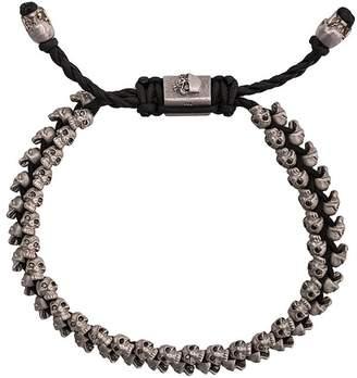 M. Cohen 14kt white gold skull bracelet