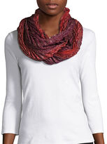 Collection 18 Mystiq Pleated Infinity Scarf