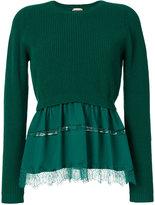 No.21 peplum sweater