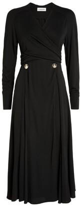 Lanvin Button-Embellished Dress