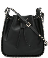 Valentino Rockstud bucket bag - women - Leather - One Size