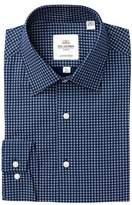 Ben Sherman Target Print Florentine Tailored Slim Fit Dress Shirt