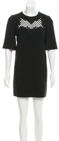 Dolce & Gabbana Embroidered Shift Dress w/ Tags