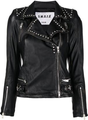 S.W.O.R.D 6.6.44 Studded Biker Jacket