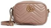 Gucci Small Gg Marmont Matelasse Shoulder Bag