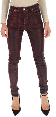 Rick Owens Distressed Skinny Jeans