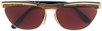 Emanuel Ungaro Pre Owned Ungaro Wayfarer Sunglasses