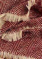 MANGO Striped Scarf