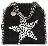 Stella McCartney Falabella Tiny Star Shoulder Bag, Black
