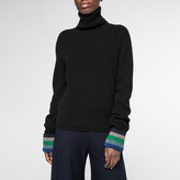 Paul Smith Women's Black Cashmere Roll-Neck Sweater