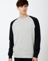 ONLY & SONS Fan Raglan Sweatshirt Grey