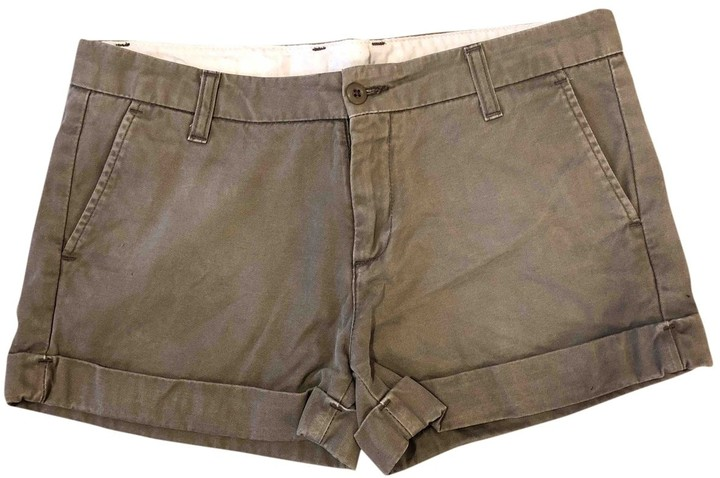 Carhartt Beige Cotton Shorts for Women