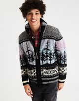 American Eagle Outfitters AE Winter Zip-Up Sweater