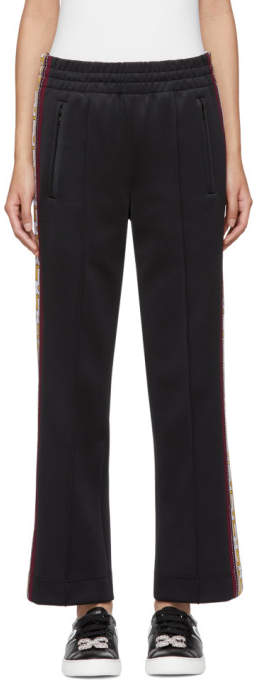 Marc Jacobs Black Logo Track Pants