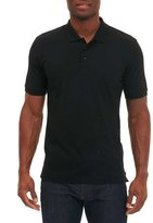 Robert Graham Jawbone Canyon Polo Shirt, Black