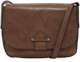 Frye Casey Leather Crossbody Bag, Charcoal