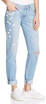 Paige Brigitte Boyfriend Jeans in Studded Daisy