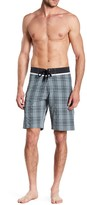 Burnside Tartan Plaid Print Board Short