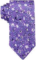 Lauren Ralph Lauren Men's Floral-Print Silk Tie