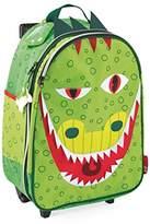 Janod Suitcase Trolley T-Rex Children's Luggage, 45 cm, 25 Liters, Multicolour