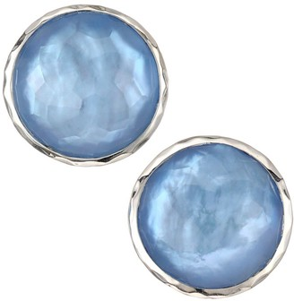 Ippolita Wonderland Large Sterling Silver & Doublet Stud Earrings
