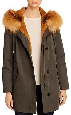 Maximilian Furs Rabbit Fur Lined Parka - 100% Exclusive