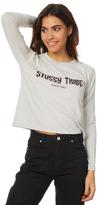 Stussy Rock Tour Ls Tee Grey