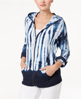 Style&Co. Style & Co Tie-Dyed Hoodie, Only at Macy's