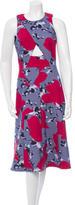 Thakoon Cutout Midi Dress