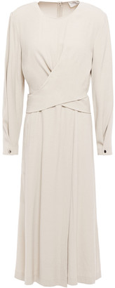 BA&SH Wrap-effect Crepe Dress